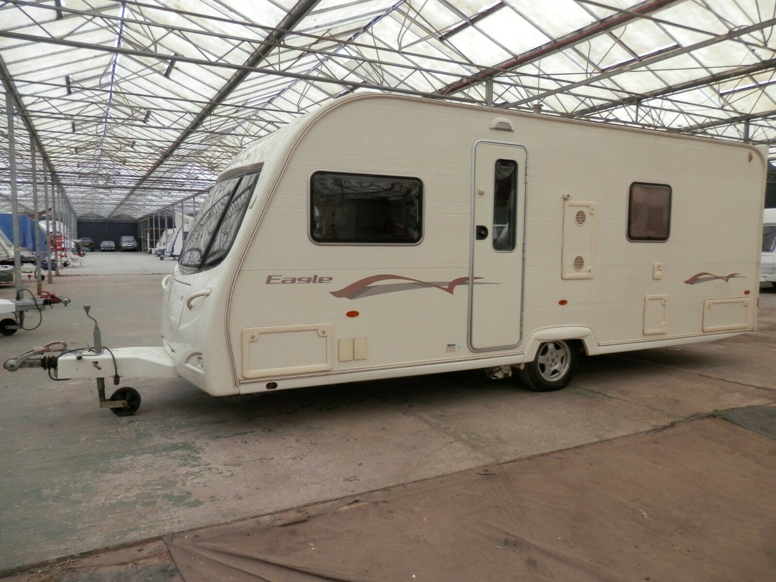 Avondale Eagle ~ 4Berth With Fixed End Bed Touring Caravan ~ Year 2007/2008 ~