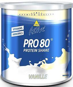 (32,77€/1kg) Inkospor Active Pro 80, 750g - wählbarer Geschmack  - Eiweiß
