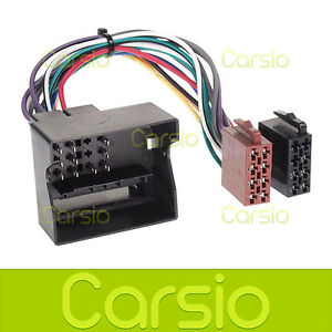 ford focus mk2 iso lead wiring harness connector stereo radio rh ebay com Ford Truck Wiring Harness ford wiring harness connector parts
