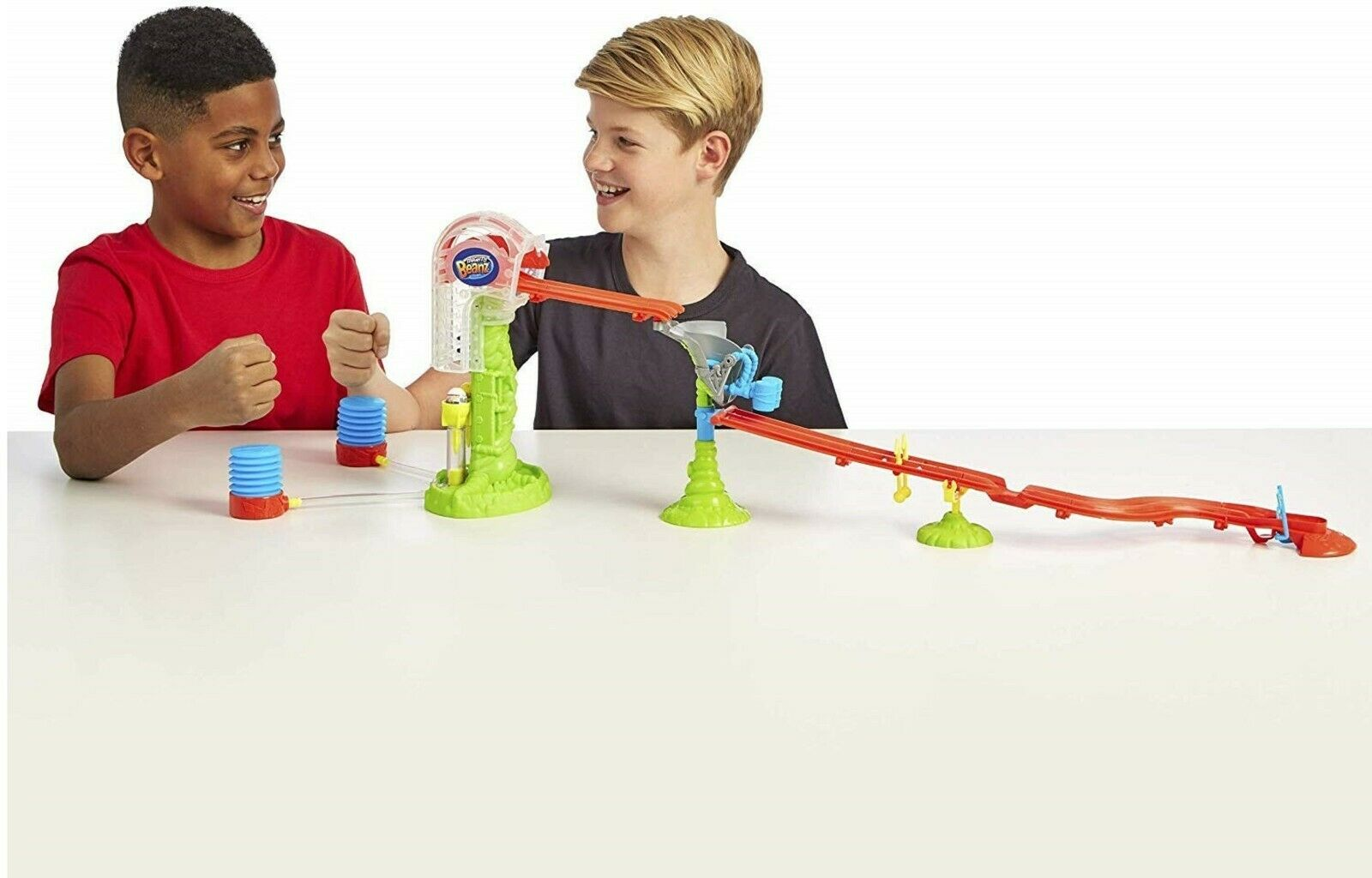 Toy Play Fight Car Ball Gift Hammer Mighty Beanz Slammer Time Race Track Ages 5