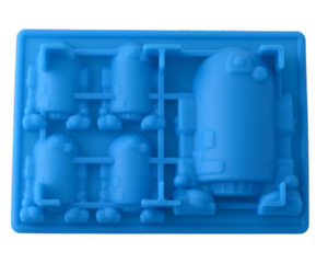R2-D2 Mold Ice Cube Tray Muffins Candy Chocolate Baking Bath Bomb Soap Star Wars