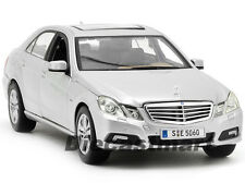MAISTO 1:18 MERCEDES BENZ E-CLASS NEW DIECAST MODEL CAR SILVER