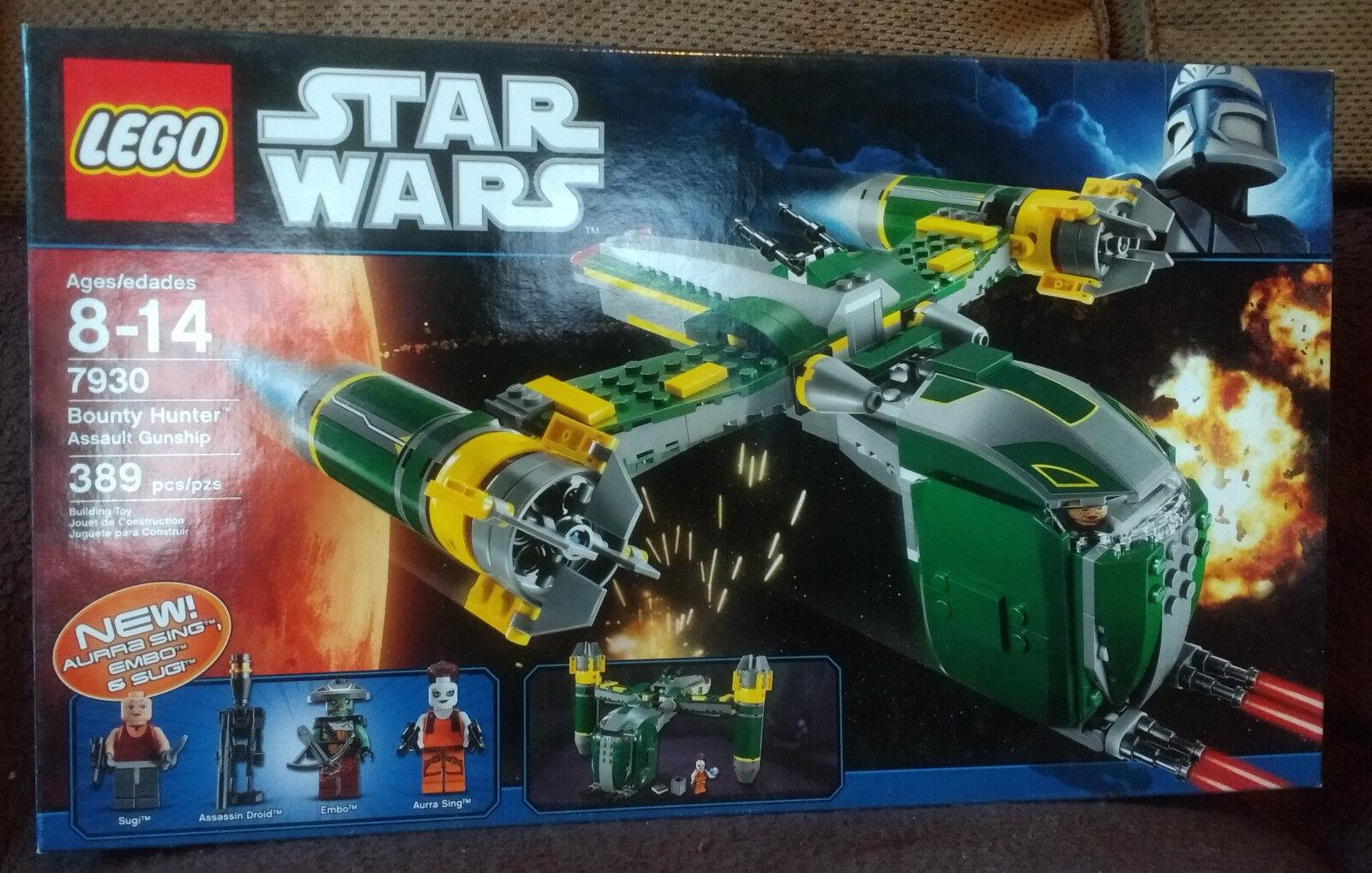 Lego Star Wars Bounty Hunter Assault Gunship (7930) New MISB
