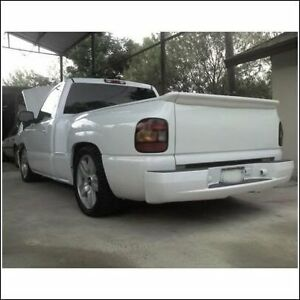 99 06 silverado port n trasero aler n ala stepside super sport ss intimidator ebay. Black Bedroom Furniture Sets. Home Design Ideas