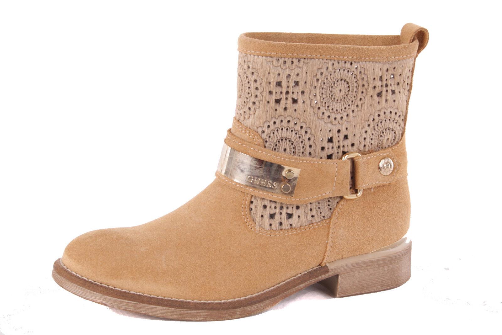 Guess DaHommes DaHommes DaHommes  Stiefel Stiefeletten Boots Beige Used | Nouvelle Arrivée  bd8e42