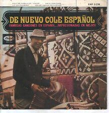 NAT KING COLE EP 1962 Aquí se habla en amor +3 ( In Spanish )
