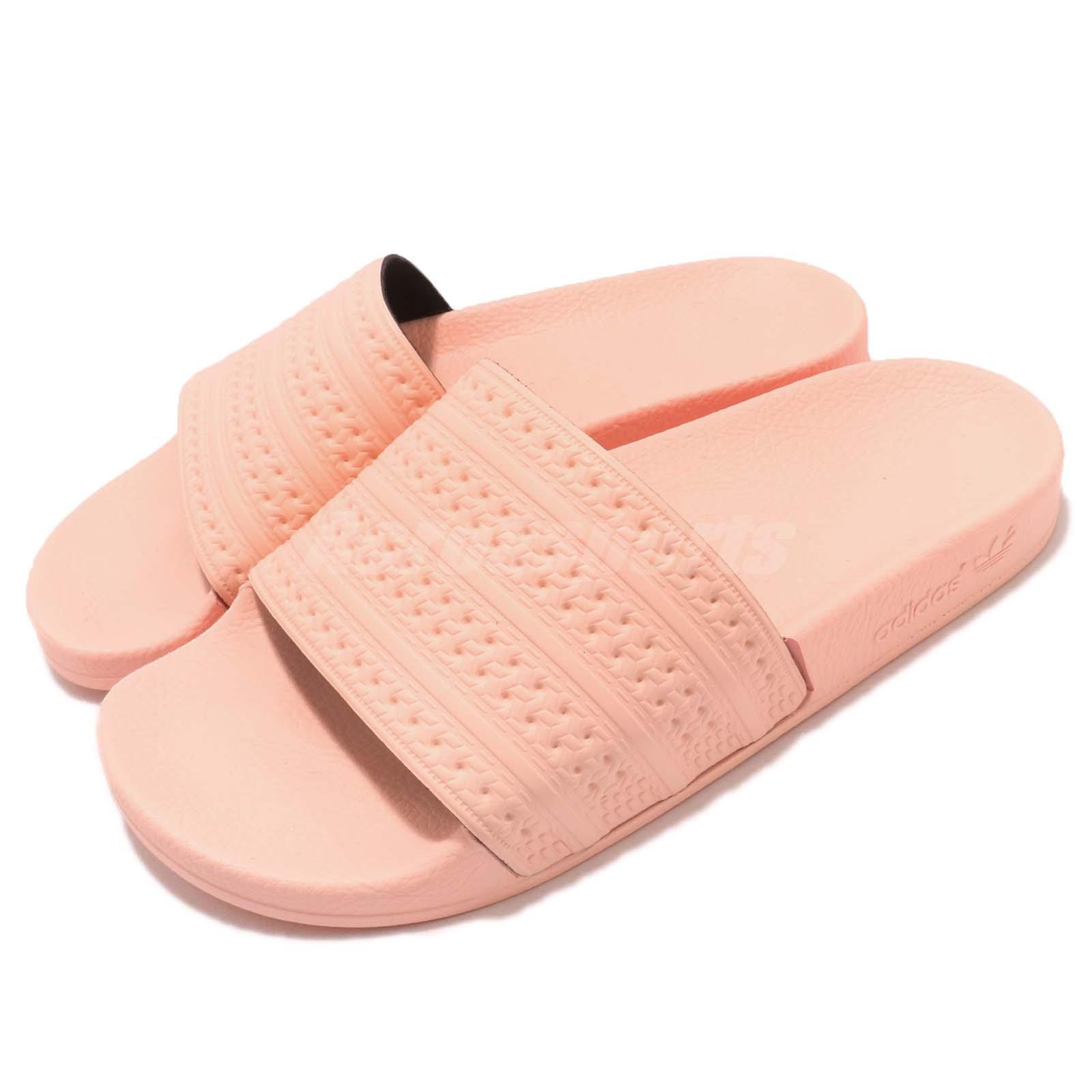 adidas Adilette Haze Coral Pink   WoHommes    Sports Sandal Slides Slippers BA7538 8cbebc