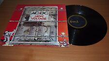 AC/DC High Voltage 1975 Aussie 1st Press LP Vinyl Blue Roo Broonzy OOP NM ROO ER