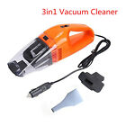 Car DC 12V 120W 3in1 Multifunctional Handheld Vacuum Cleaner Wet Dry Clean Dust