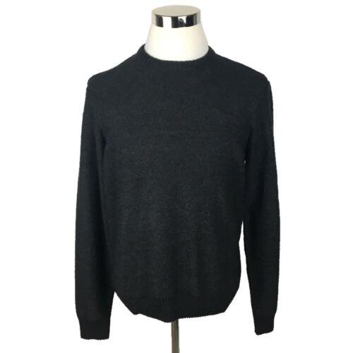 Nero in Girocollo Mens cotone Munsingwear misto L New Penguin Sweater Sz WwTqPTY4