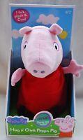 Peppa Pig Hug N Oink Talking Plush