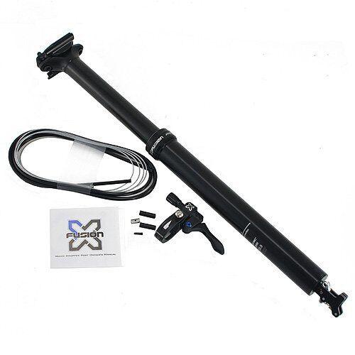 X-Fusion Manic INTEGRA Remote Dropper Seatpost 31.6x437.5mm , T 150mm
