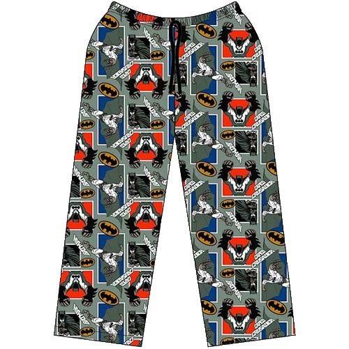 Boys Kids Batman Character Lounge Wear Pyjama Sleepwear Nightwear Bottoms Pants