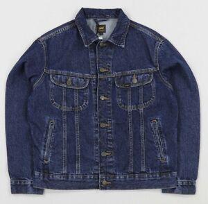 Rider Trucker Unisex Regular Bnwt Stonewash jeans di Fit Medium Lee Dark Giacca RqP55wfO