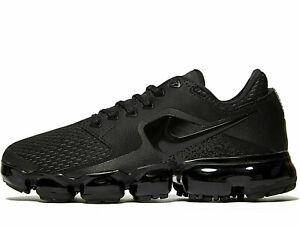 Details about Nike Air VaporMax Women ® ( UK Sizes: 3 4.5 8) Triple Black Latest NEW