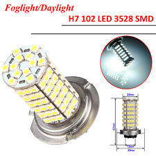 1 x Lampada Lampadina AUTO H7 102 LED 3528 SMD Luce Xenon Bianco 6000K DC 12V