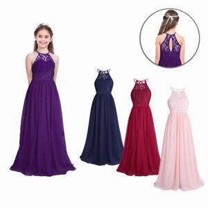 online retailer afc5a 5891d Details zu Blumenmädchenkleid Hochzeit Brautjungfernkleid Kinder  Partykleider Festkleider