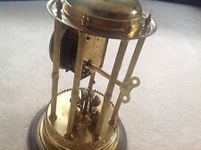 BANDSTAND LOUVRE DOME 400 DAY JOURS ANNIVERSARY TORSION JAHRESUHR LONG CLOCK KEY