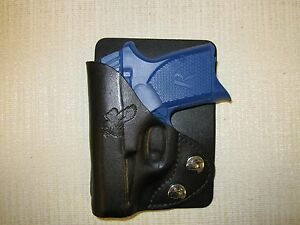 Remington RM380 leather wallet & pocket holster - Click Image to Close