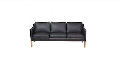 Find Sofa Læder 3 Pers i Arkitekttegnet: møbler og belysning