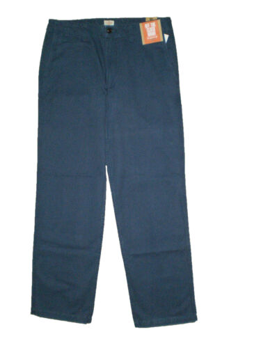 Dockers Off The Clock Khaki Chino Straight Fit D2 Mens Blue Pants New $58