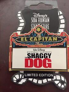 The-Shaggy-Dog-Disney-Pin-50019-DSF-Dssh-El-Capitan-Theatre-2006-Marquee-LE-300