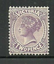 Album Treasures Victoria Scott # 220a  2p  Victoria Mint Lightly Hinged