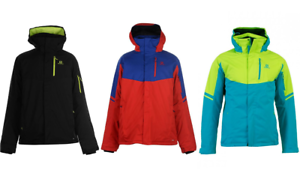 Details about New Salomon Rise Skisnowboard jacket men's various colours S XXL RRP £219.99
