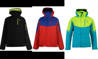 Details about New Salomon Rise Skisnowboard jacket men's various colours S XXL RRP £219.99