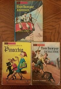 Grosset-amp-Dunlap-COMPANION-LIBRARY-Lot-of-3-HC-Books-with-6-Children-039-s-Classics