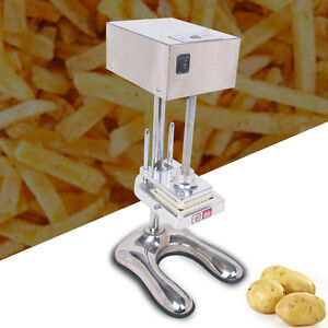 Electric French Fry Cutter Commercial Potato Slicer