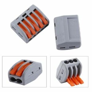electrica-Palanca-de-resorte-Conector-de-cable-Adaptador-de-cable-Terminales