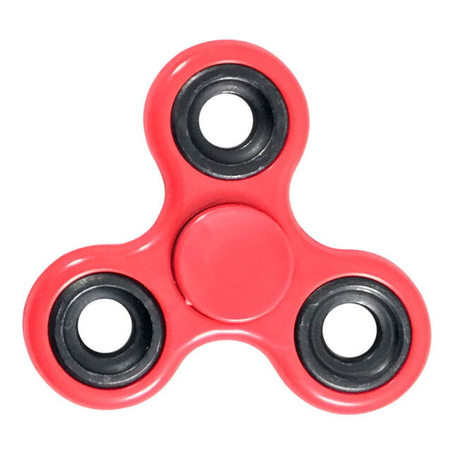 Tri-spiner Hand Fidget Spinner EDC Focus Gyro Toy ADD ADHD Stress Reducer Toys
