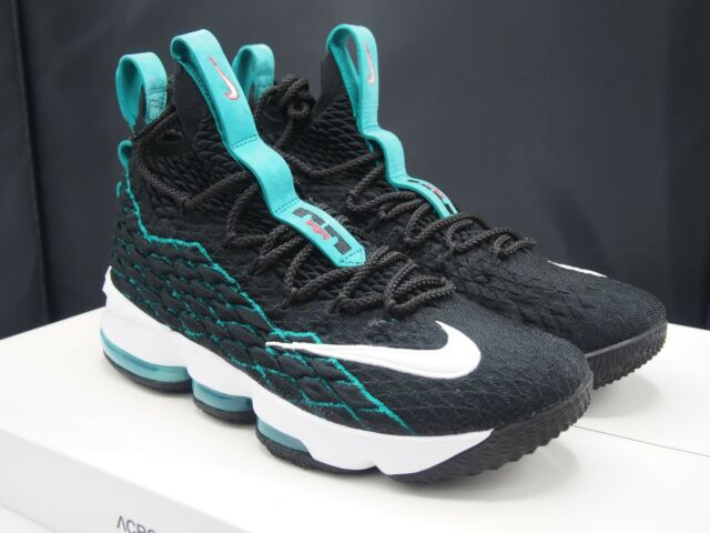 hot sales 8390a 12a01 Nike Lebron XV 15 Griffey Basketball Shoes 9.5 Lebron Watch PE Freshwater DS