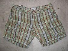 Pantaloncini Shorts WOOLRICH orig. 100% in Lino Tg. 26 Nuovi con Etichetta