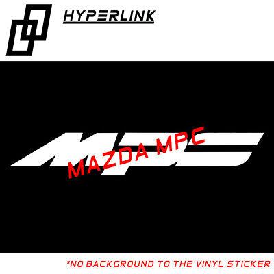 Sticker Auto Logo Stickers Mazda Mps ref12 Sticker Car