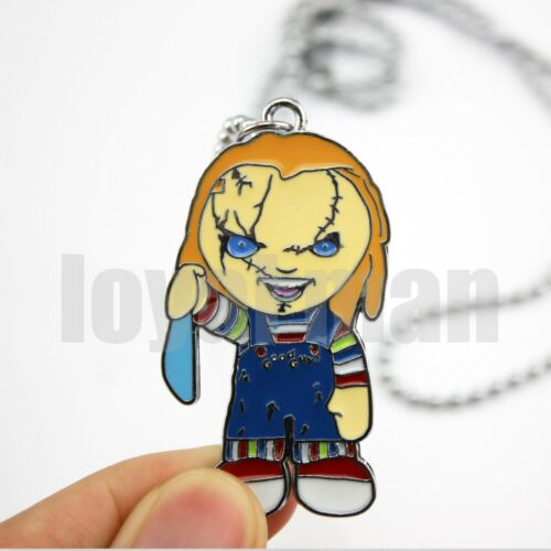 limited Bride of Chucky necklace Mezco Horror Child/'s Play good guy boy pendant