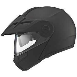 Schuberth-Motorcycle-Folding-SYSTEM-HELMET-E1-Color-Black-Matt-Size-58-59