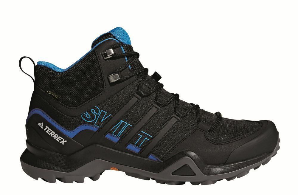 Adidas Terrex Swift R2 Mid Goretex Hombres Zapatos botas Para Excursionismo Deporte Impermeable