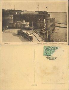 TARANTO  CASTEL S,ANGELO CON TRAM IN ARRIVO -N.49471