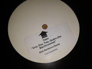 Taiko - Uno Dos Tres Quatro (Nick Sentience Mix) Classic Hard House Vinyl