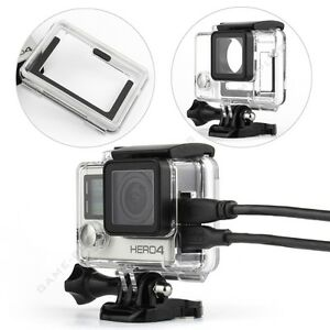 Side-Open-Skeleton-Protective-Housing-Case-Cover-Mount-for-GoPro-Hero-4-Camera