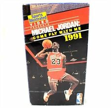 Michael Jordan Come Fly With Me VHS Movie