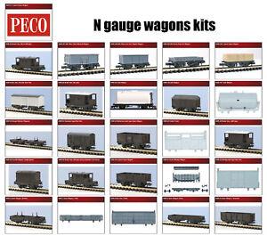N-gauge-wagons-kits-26-differents-models-Peco-KNR-range-F1