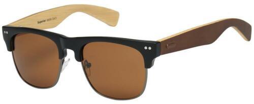 New Bamboo Sunglasses Wood Wooden Men Women Summer Glasses Retro Vintage Vogue