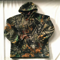 Men's Big & Tall Bionic Camouflage Hunting Clothing Fleece Hoodies Sweatshirt