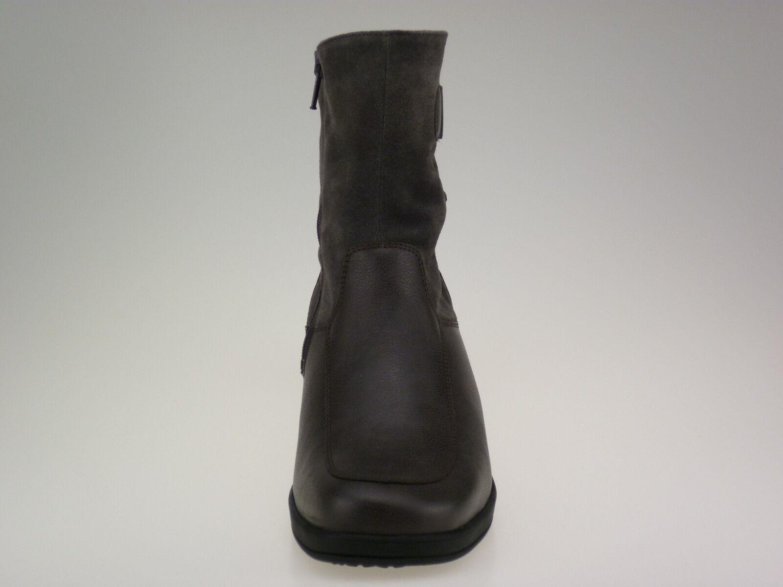 Meisi Hanni 37 37,5 38 39,5 40 41,5 botines de cuero marrón ancho h nuevo