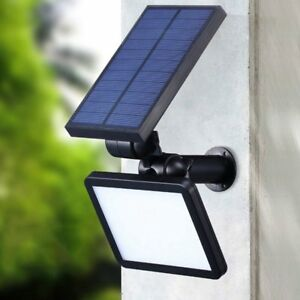 Details About 48 Led Solar Spotlight Garden Lawn Lamp Outdoor Landscape Light Waterproof