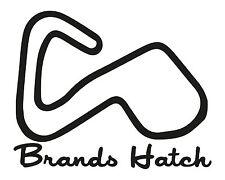 Circuito di Brands Hatch Race. VINILE Auto Adesivo f1 British Grand Prix Formula