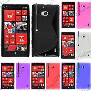 Etui-Coque-Housse-TPU-Silicone-Gel-Motif-S-Line-Nokia-Nokia-Lumia-930